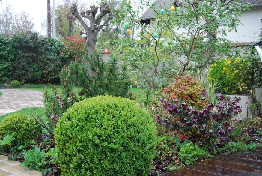 Vesinet philippe bouncer paysagiste for Entretien jardin versailles